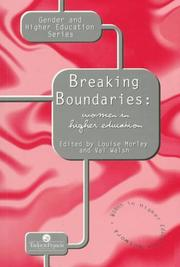 Cover of: Breaking Boundaries | Val Walsh
