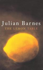 Cover of: The lemon table