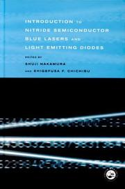 Cover of: Introduction to nitride semiconductor blue lasers and light emitting diodes |