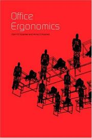 Cover of: Office Ergonomics | Karl H.E. Kroemer