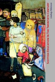 Cover of: Scottish education in the twentieth century | Lindsay Paterson
