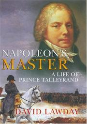 Cover of: Napoleon's Master