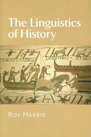 Cover of: The Linguistics of History