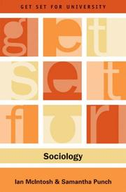 Cover of: Get Set for Sociology (Get Set for University) | Ian McIntosh