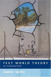 Cover of: Text World Theory