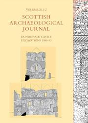 Cover of: Dundonald Castle Excavations 1986-93 (Scottish Archaeological Journal (2004)) |