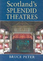 Cover of: Scotland's splendid theatres