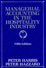 Cover of: Managerial Accounting in the Hospitality Industry