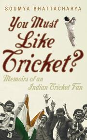 Cover of: You Must Like Cricket?