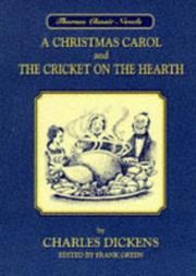 Cover of: A Christmas Carol (Thornes Classic Novels) | Charles Dickens