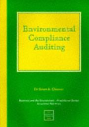 Cover of: Environmental compliance auditing