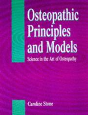 Cover of: Science in the Art of Osteopathy | Caroline Stone