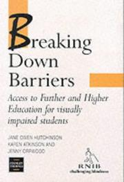 Cover of: Breaking Down Barriers | J. S. Morley Hutchinson