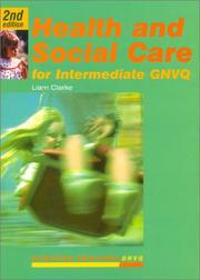 Cover of: Health and Social Care for Intermediate Gnvq (Stanley Thornes GNVQ)
