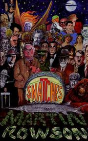 Cover of: Snatches