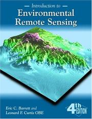 Cover of: Introduction to environmental remote sensing | E. C. Barrett