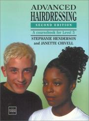 Advanced Hairdressing by Stephanie Henderson, Janette Chivell