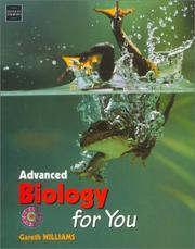 Cover of: Advanced Biology for You by Gareth Williams