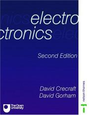 Cover of: Electronics | D. I. Crecraft