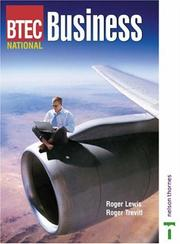 Cover of: Btec National Business Studies Textbook | Roger Lewis
