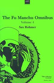 Cover of: The Fu Manchu Omnibus