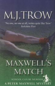 Cover of: Maxwell's Match