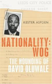 Cover of: Nationality: Wog