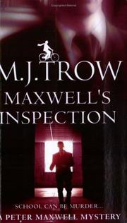 Cover of: Maxwell's Inspection