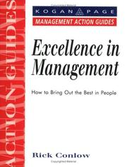 Cover of: Excellence in Management (Management Action Guides)