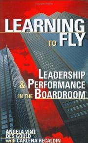 Cover of: Learning to fly