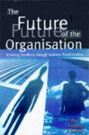 Cover of: The Future of the Organization