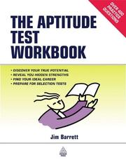 The aptitude test workbook by James Barrett