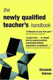Cover of: newly qualified teacher