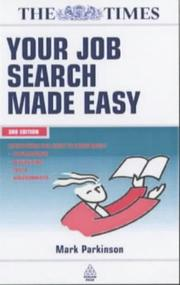 Cover of: Your Job Search Made Easy