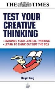 Cover of: Test your creative thinking
