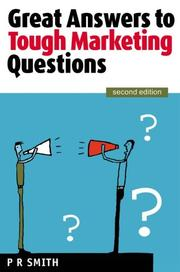Cover of: Great Answers to Tough Marketing Questions | Paul Russell Smith