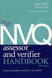 Cover of: The NVQ Assessor and Verifier Handbook | Jenny Tucker