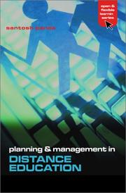 Cover of: Planning and management in open and distance education |
