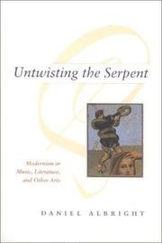 Cover of: Untwisting the Serpent | Daniel Albright