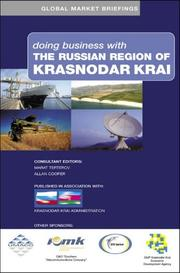 Cover of: Doing business with the Russian region of Krasnodar Krai |