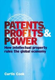 Cover of: Patents, profits & power