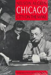 Cover of: Chicago, city on the make