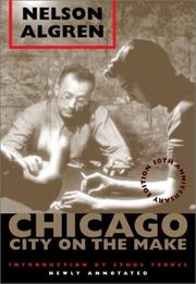Cover of: Chicago: City on the Make