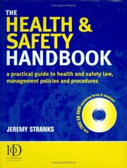 Cover of: The Health & Safety Handbook