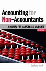 Accounting for Non-accountants by Graham Mott