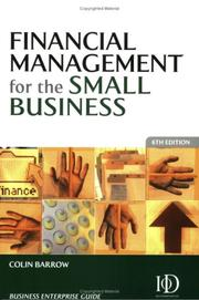 Cover of: Financial management for the small business: the Daily telegraph guide