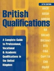 Cover of: British Qualifications | Kogan Page