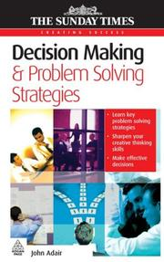 Cover of: Decision Making & Problem Solving Strategies (Creating Success)