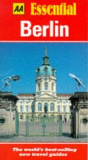 Cover of: Essential Berlin