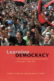 Cover of: Learning democracy